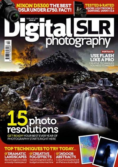 Подшивка журналов:  Digital SLR Photography №№86, 87 (январь, февраль 2014) [En]