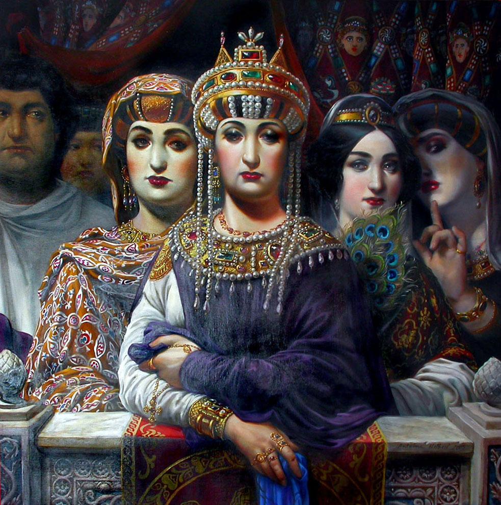 Пошлая царица татьяна и трах с придворными смотреть онлайн 23 фотография