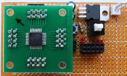 Минимальная Arduino своими руками