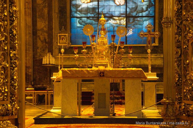 Исаакиевский собор, 15 декабря 2015 года