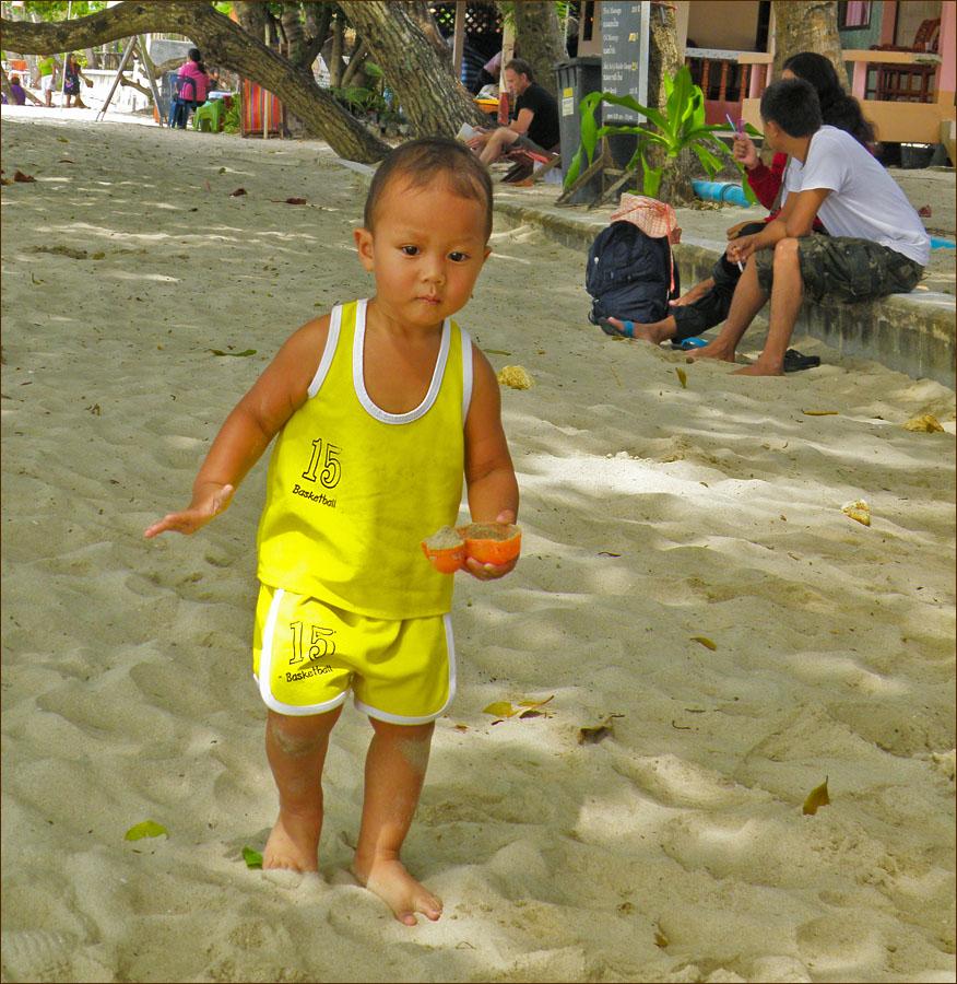 Тайский детёныш