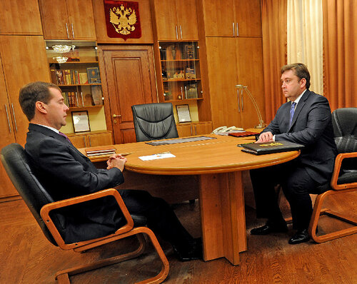 Визит президента РФ в Тверскую область