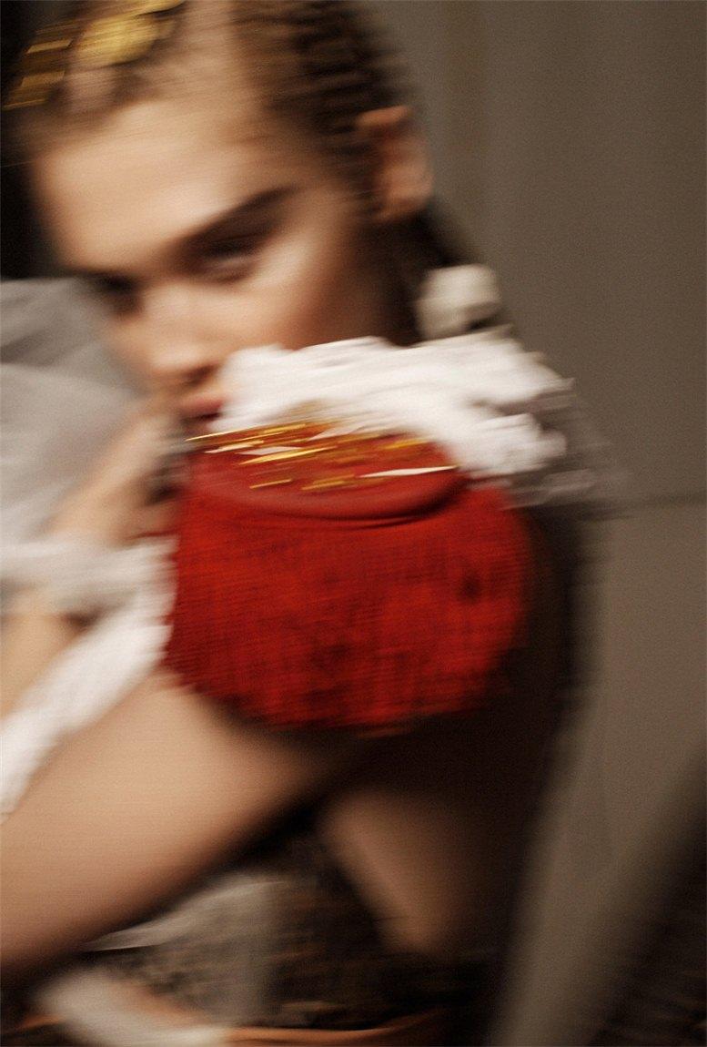 Anais Pouliot by Sylvie Malfray / Анаис Пуле в журнале All Magazine, весна 2011