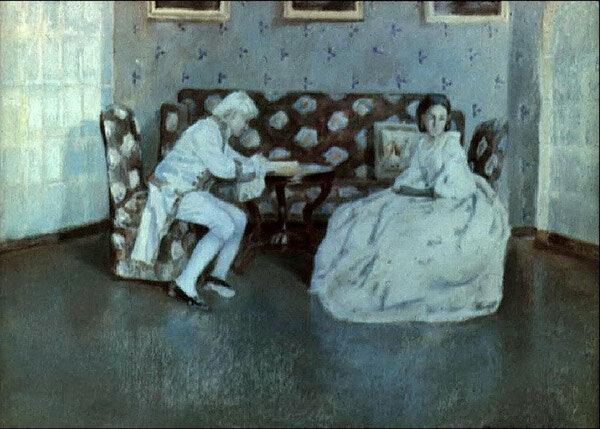 Виктор Эльпидифорович Борисов-Мусатов (1870-1905)