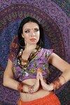 Индийский макияж .