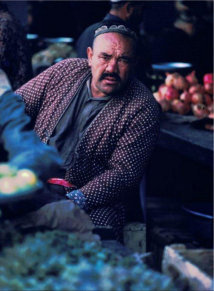 Узбекистан. На местном рынке