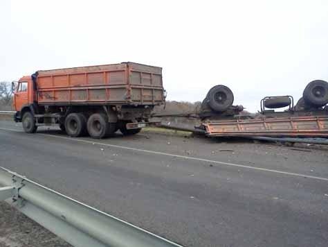 Авария Красная Яруга - Белгород