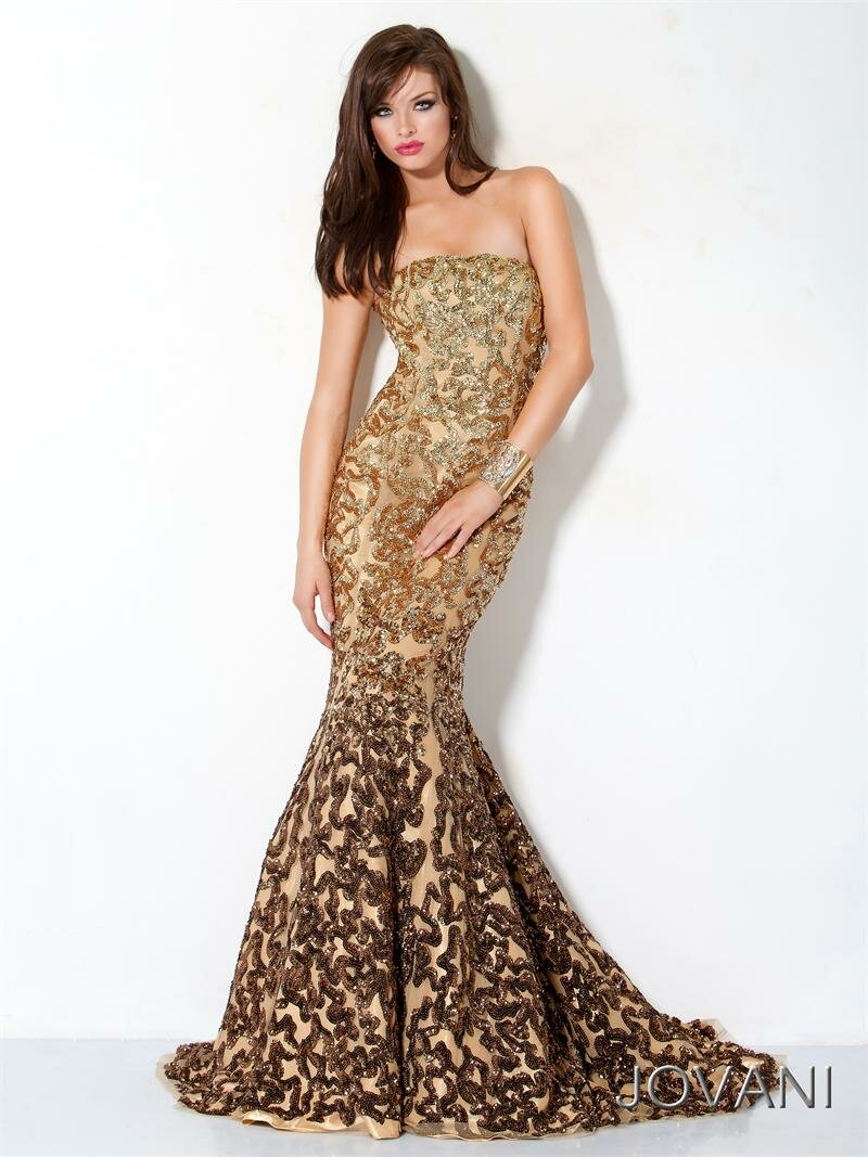 TOUCHING HEARTS: JOVANI - EVENING DRESSES