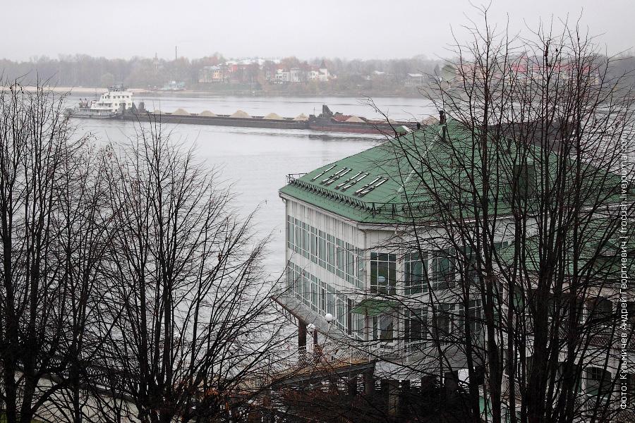 Ярославль. Волга. Буксир толкач «ОТ-2041» 1971 года постройки. Проект 428-1