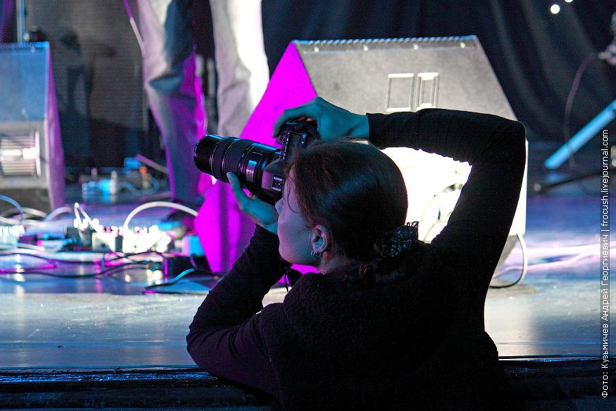 фотограф на концерте