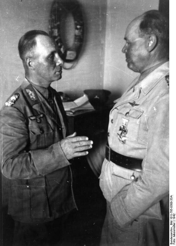 Nordafrika, Rommel und Kesselring