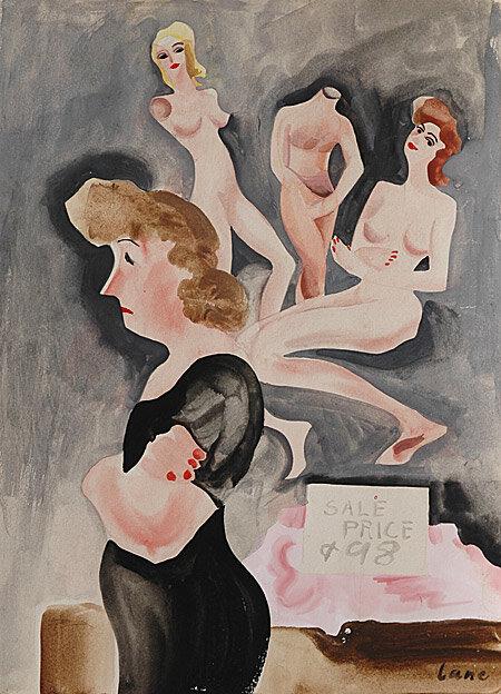 Лэйн Бетти,  Распродажа, Цена 98 центов, 1940s. Sale Price 98 Cents.