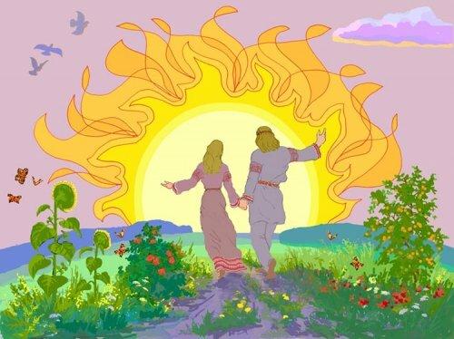 «СОЛНЕЧНОЕ КОЛО» ВОСТОЧНЫХ СЛАВЯН