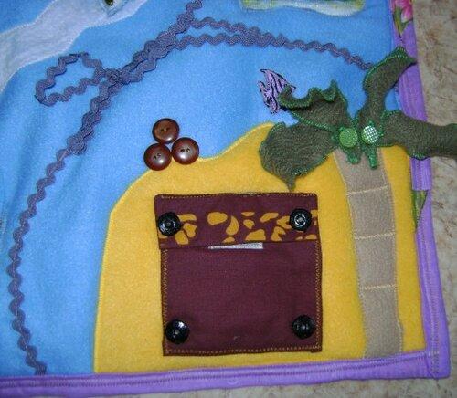 Игровой развивающий коврик... сундук с сокровищами