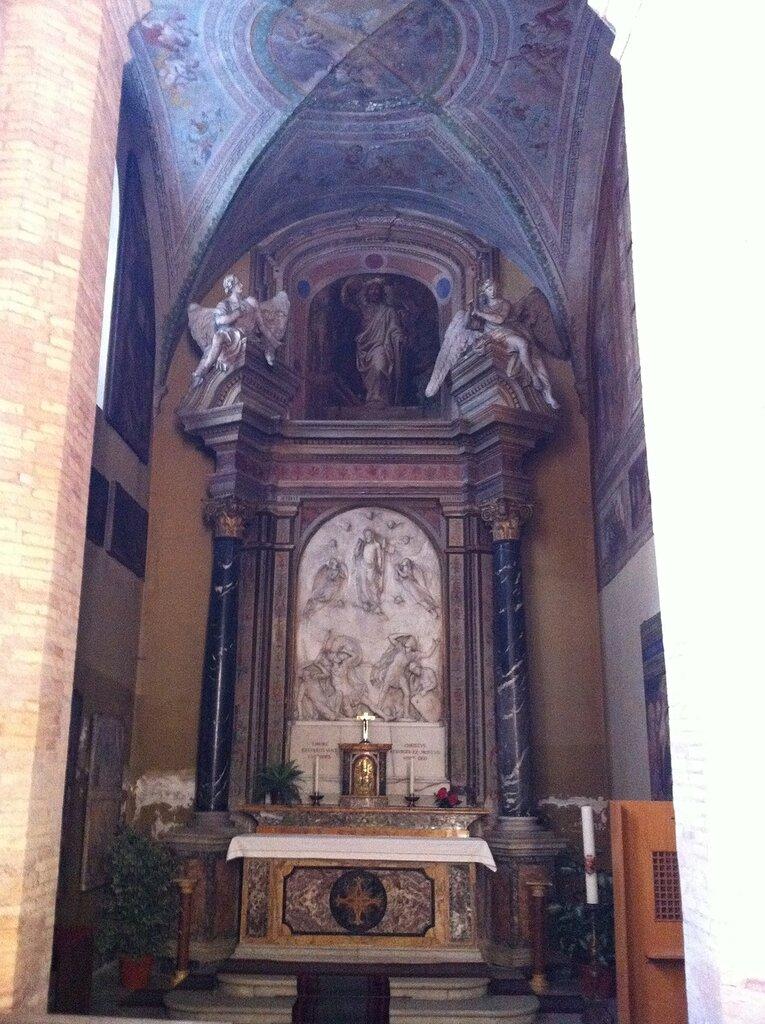 Кладбище тевтонцев в Ватикане
