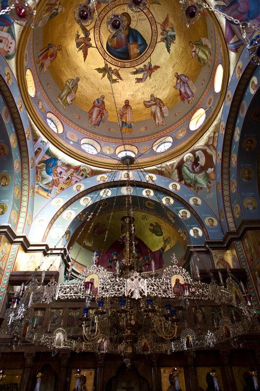 Греческий монастырь в Капернауме
