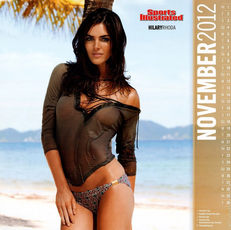 Sports Illustrated Swimsuit Edition 2012 calendar - Hilary Rhoda / Хилари Рода - кликабельно, 9 мегапикселей