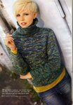 Молодежный свитер в стиле Casual.