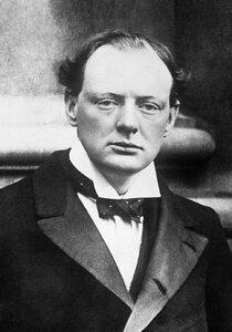 Уинстот Черчилль (30 ноября 1874 - 1965)