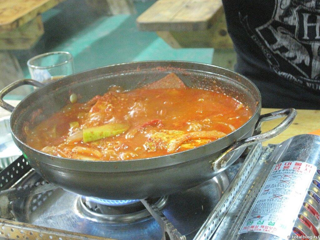 Что едят в Южной Корее