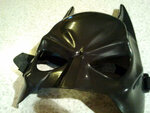 Funny The Halloween's Batman Figure Plastic Mask with Elastic Band for All Saints' Day FHP-53034- $2.48
