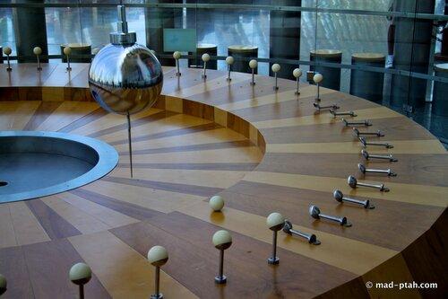 валенсия, испания, музей науки, маятник Фуко