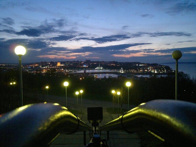 Закат над Заливом