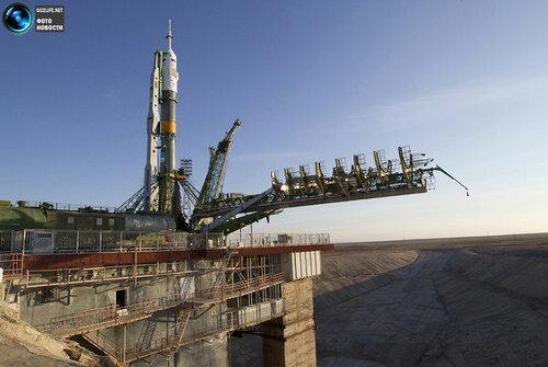 Go2life.net • Запуск пилотируемого космического корабля Союз ТМА-22