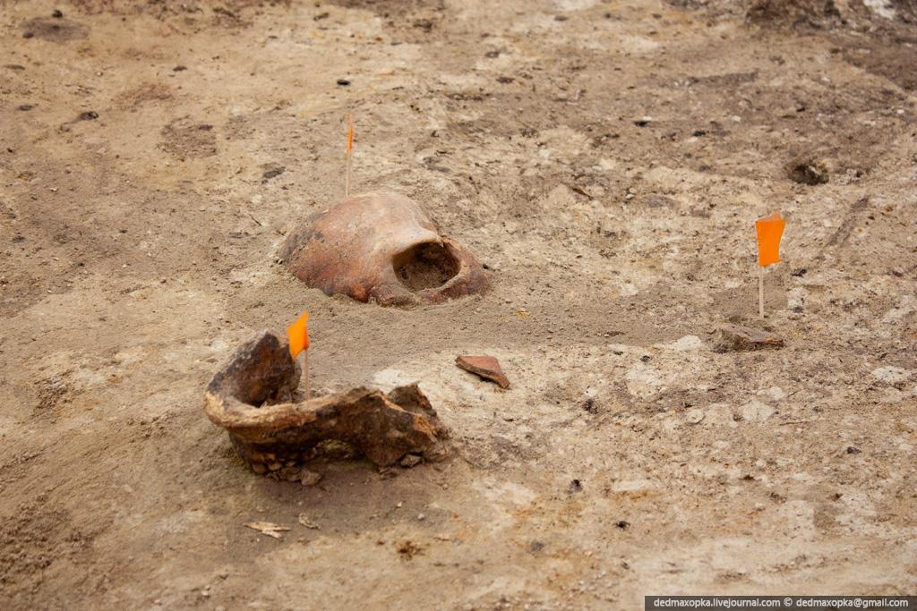 Раскопки на Охте