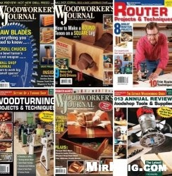 Журнал Woodworker's Journal №1-6 Spring Summer Fall Winter 2013