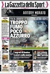 Журнал La Gazzetta dello Sport  (17 Novembre 2014)