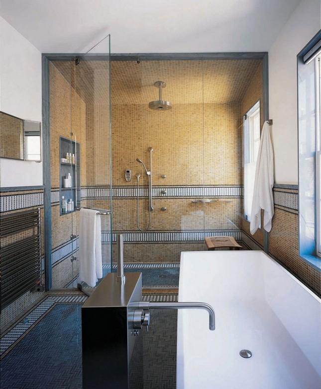 Таунхаус в стиле модернизма в Нью-Йорке