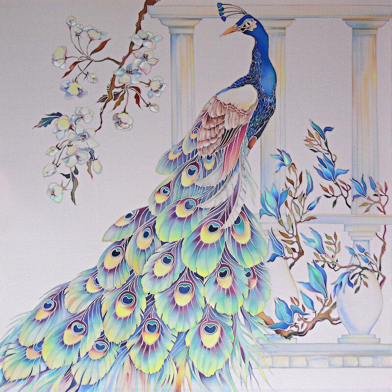 Павлин-с-синими-цветами.jpg