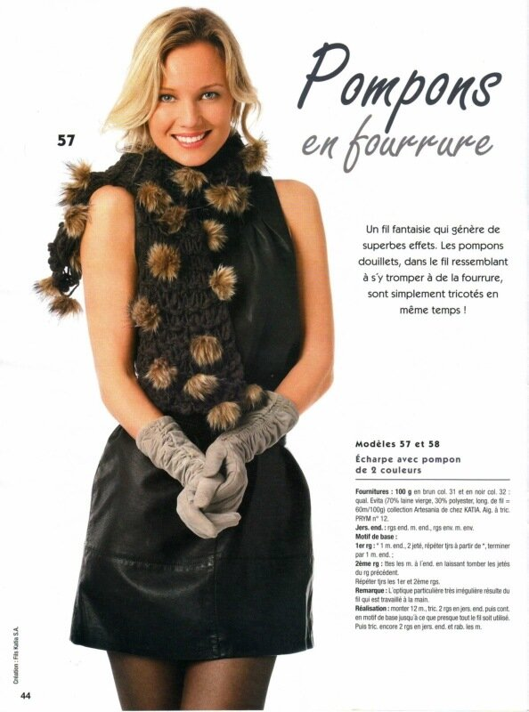 Великолепная коллекция женских вязаных аксессуаров спицами и крючком: шапочки, шарфы, накидки, болеро, митенки...
