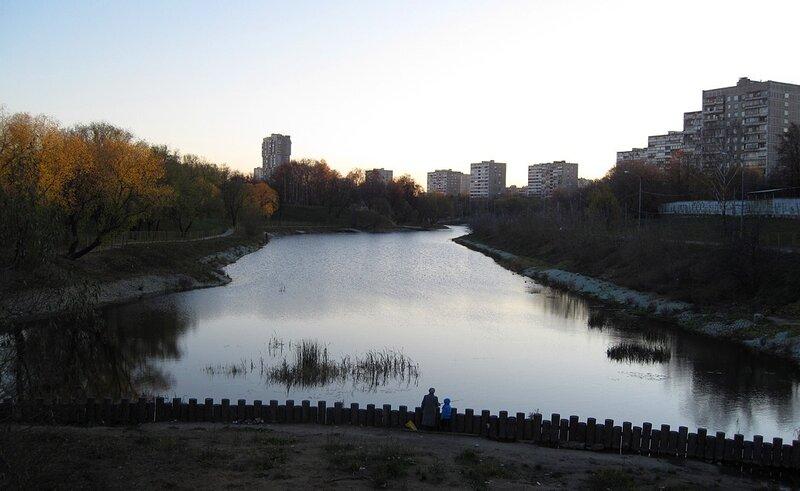 Преображенский пруд. Осень 2011.