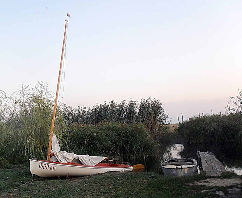 Август 2011, в Пригибском лимане