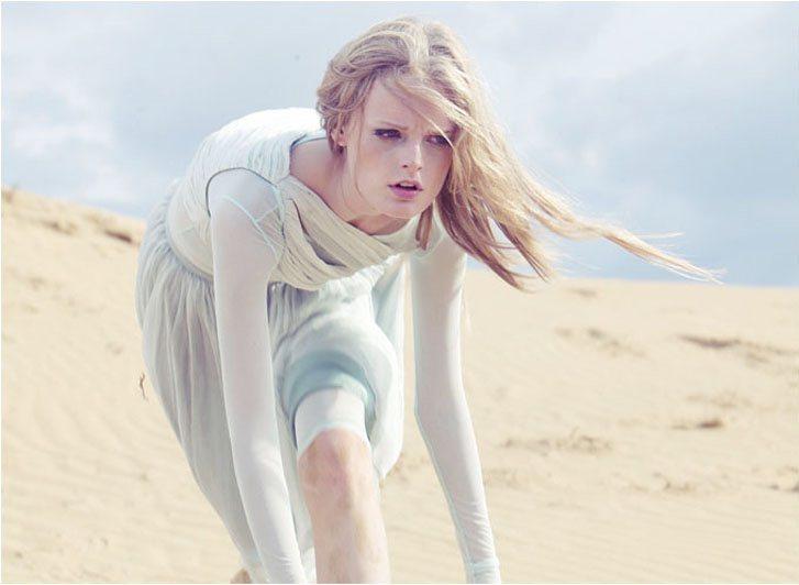 модель Ханне Гэби / Hanne Gaby, фотограф Niko Menu