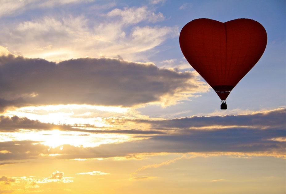 happiness - полеты на воздушном шаре