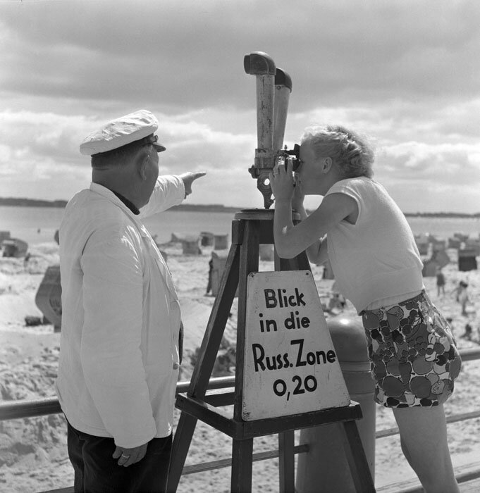 Max Scheler.Заглянуть в русскую зону, 1952 г., курорт на Балтийском море