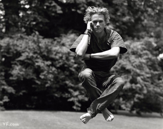 Heath Ledger by Bruce Weber