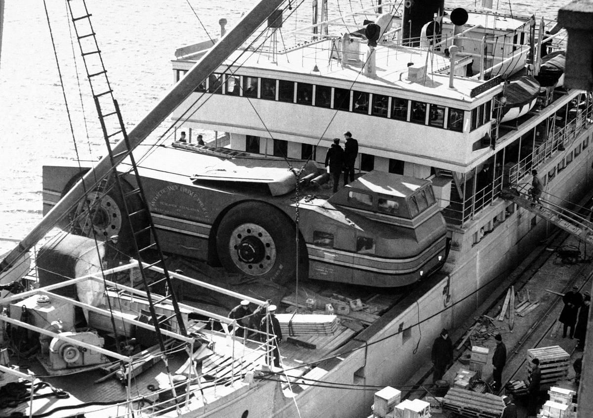 Снежный крейсер: История одного неудачного американского проекта по исследованию Арктики (1939 год) (13)