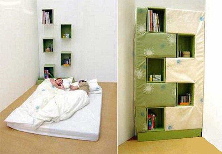 Весьма оригинальные и необычные кровати (65 фото) .