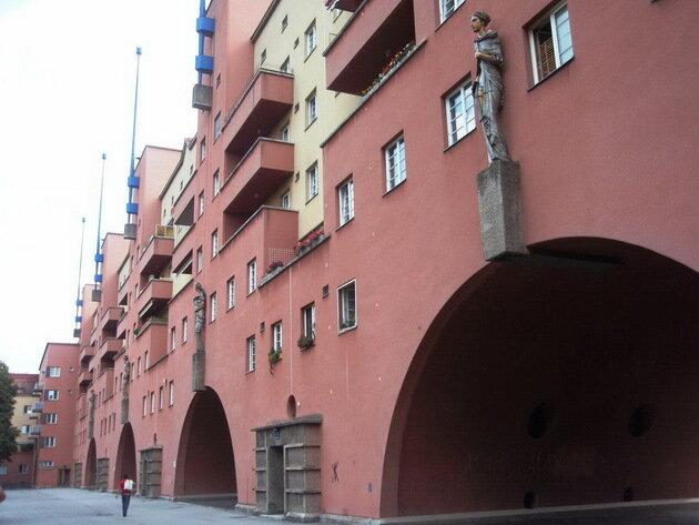 Дом Карл-Маркс-Гоф (Karl-Marx-Hof). Вена