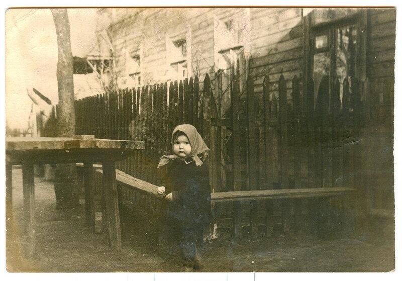 171146 Двор дома № 10  на Палихе 1963.jpg