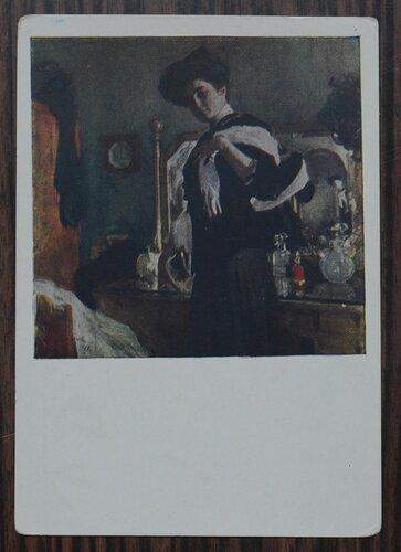 Портрет Г.Л.Гиршман. 1907 г.