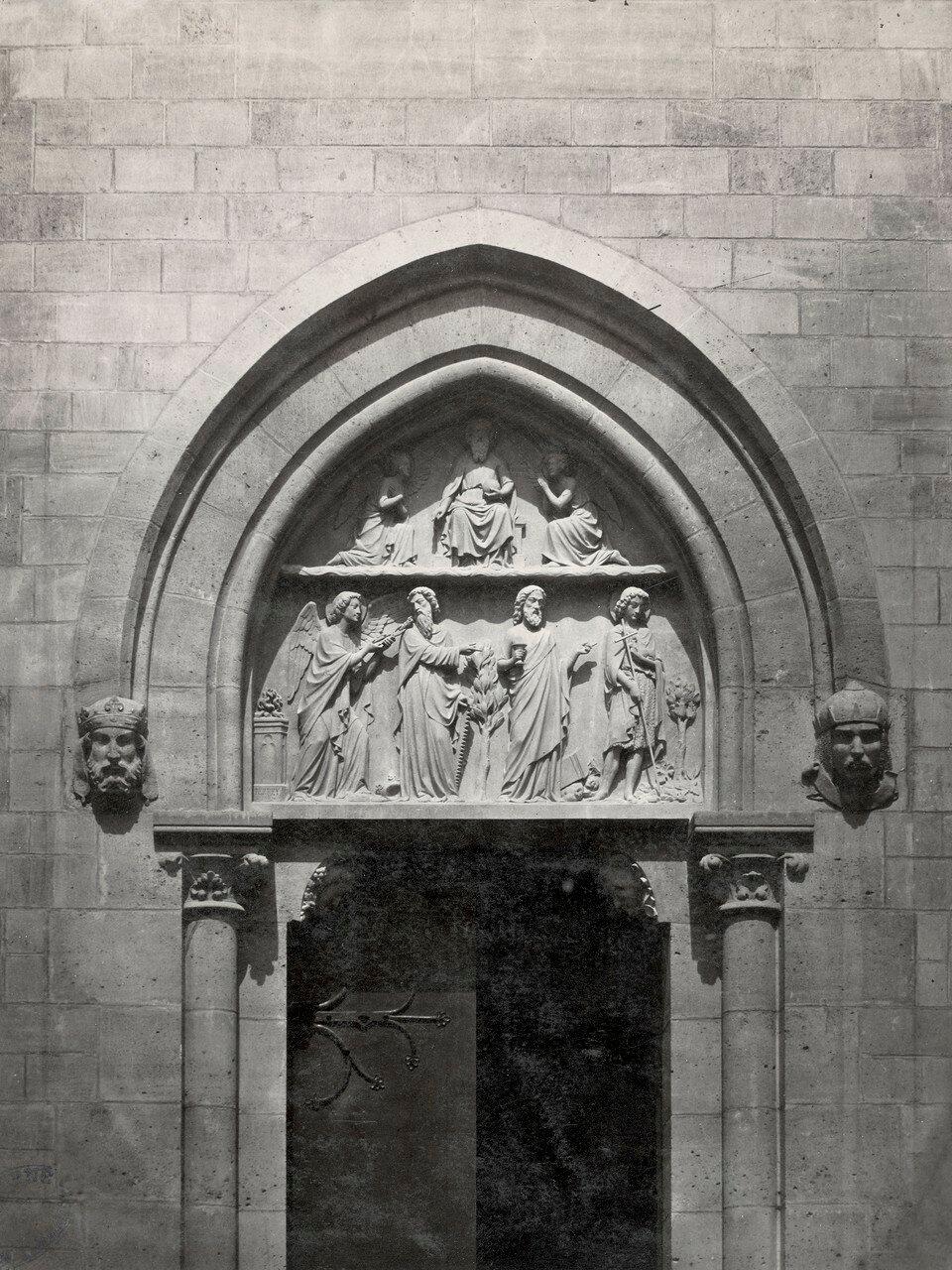 1863–70. Церковь Св. Жана-Батиста де Бельвиль