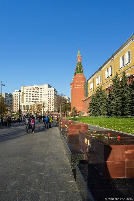 Города-герои. Александровский сад.