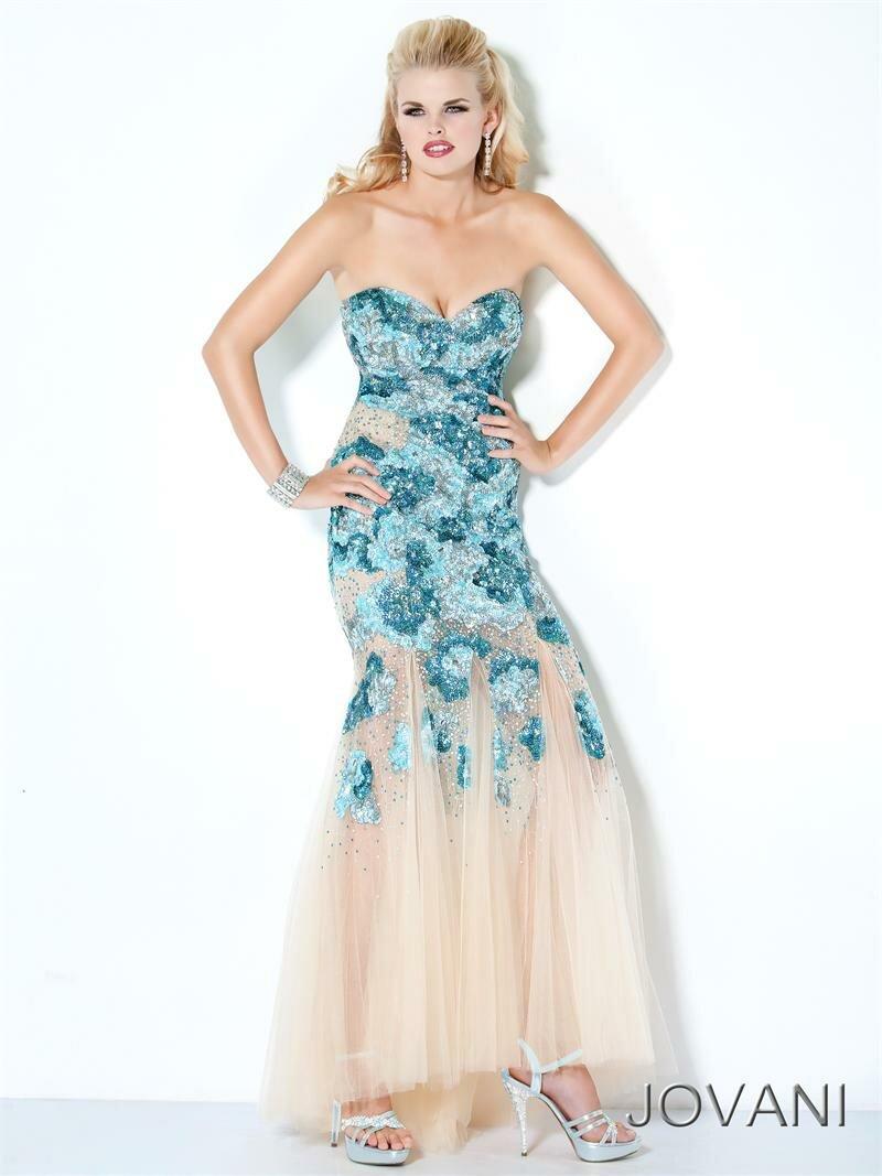 Дизайнерские платья - Jovani /3/ (новая коллекция) 2012.