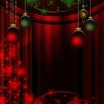 рождественские фоны и орнамент (6)