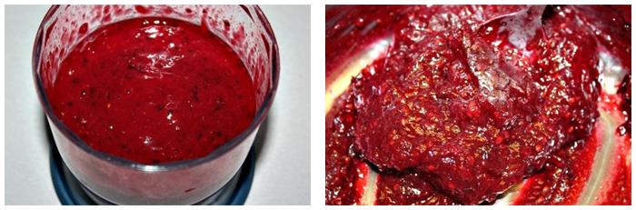 Дрожжевые косички с ягодной начинкой